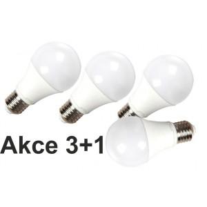 Akce: LED žárovka E27 10W 800 lm denní  3+1