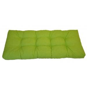 Paletový polstr 120x50 cm - látka světle zelený melír