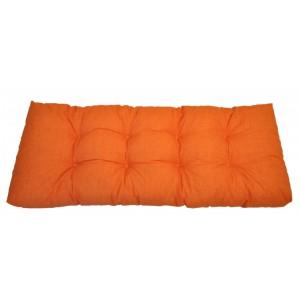 Paletový polstr 120x50 cm - látka oranžový melír
