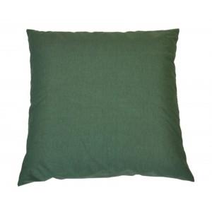 Polštář 50x50 na paletové sezení - látka tmavě zelený melír