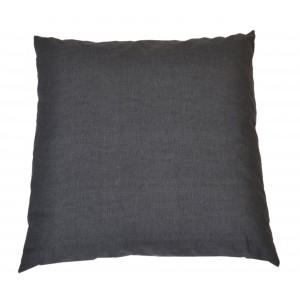 Polštář 50x50 na paletové sezení - látka tmavě šedý melír