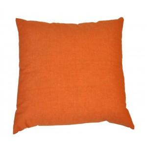 Polštář 50x50 na paletové sezení - látka oranžový melír