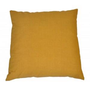 Polštář 50x50 na paletové sezení - látka žlutý melír