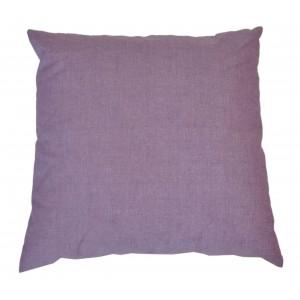 Polštář 50x50 na paletové sezení - látka fialový melír