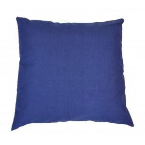 Polštář 50x50 na paletové sezení - látka tmavě modrý melír