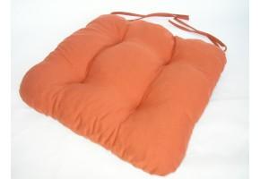 Sedák na židli 40x40 cm barva písková AKCE 3+1