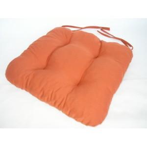 Sedák na židli 40x40 cm barva písková