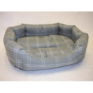 Pelíšek pro psa šedý  48x35x14 cm