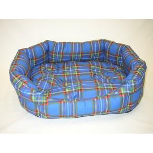 Pelíšek pro psa modrý 48x35x14 cm