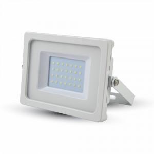 Ultratenký LED reflektor bílý 30W 2550lm teplá