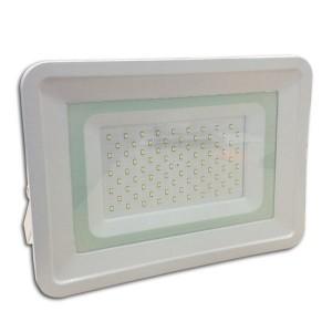 Ultratenký LED reflektor bílý   100W 8500lm, studená