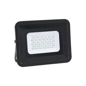 Ultratenký LED reflektor černý   20W 1700lm, studená