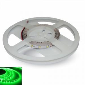 LED pásek 60x3528 smd 4,8W/m, zelená, délka 5m