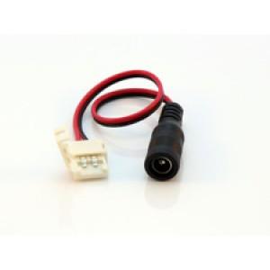 Konektor na obyčejné LED pásky 8mm, ke zdroji