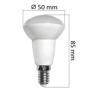 Akce: LED  žárovka E14 5W 400lm R50  teplá 3+1