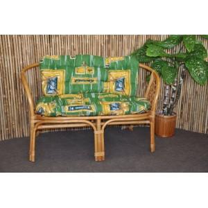 Polstr na lavici Bahama zelený