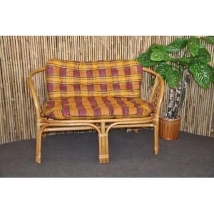 Polstr na lavici Bahama okrový