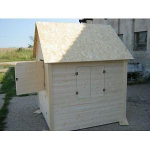 Dětský domek Axin II  s podlahou