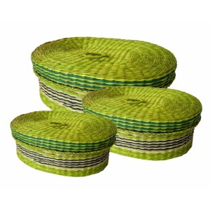 Dóza mořská tráva set 3 kusy - zelená