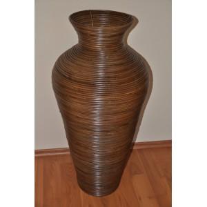 Váza ratanová hnědá XL