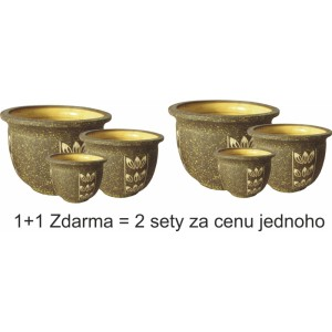 Keramický obal vzor 5618 - 1+1 zdarma - 2 sety