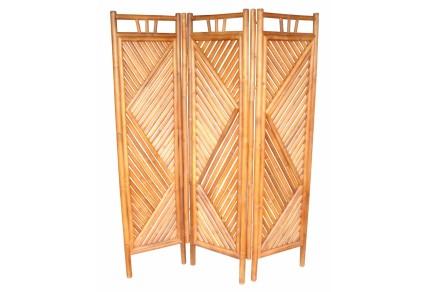 Bambusový paravan Axin 3 natural