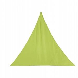 Stínící plachta trojúhelník 4m - limetka