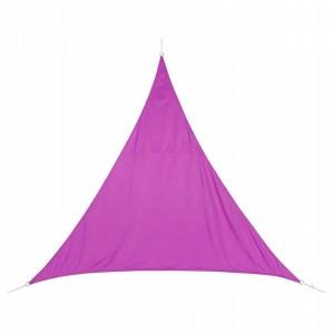 Stínící plachta trojúhelník 4m - fialová