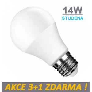 LED žárovka 14W 14xSMD2835 E27 1260lm Studená STMÍVATELNÁ