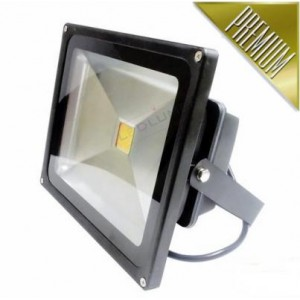 LED reflektor 30W COB EPISTAR, TEPLÁ