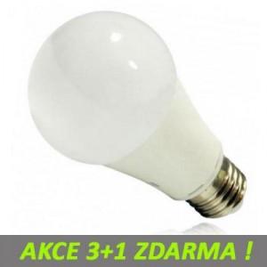 LED žárovka 10W 910lm E27 NEUTRÁLNÍ, 3+1 Zdarma
