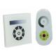 Nástěnný dotykový stmívač pro LED pásky a žárovky + dálkový RF ovladač, 12A 144W