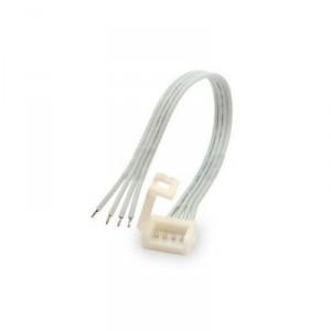 Konektor CLICK pro voděodolné RGB LED pásky 10mm s vodičem