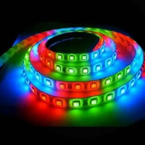 LED pásek 5m RGB 60LED/m 14.4W/m voděodolný-silikon