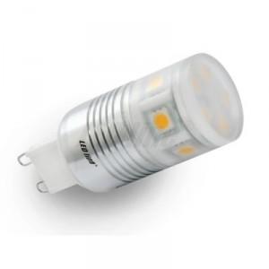 LED žárovka 2,2W 11xSMD G9 160LM 23mm STUDENÁ