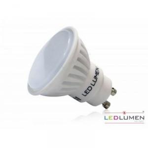 LED žárovka 8W 10xSMD2835 GU10 800lm CCD TEPLÁ