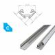 Hliníkový profil LUMINES C 2m pro LED pásky, eloxovaný stříbrný