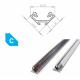 Hliníkový profil LUMINES C 2m pro LED pásky, hliník