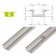 Hliníkový profil LUMINES Z zápustný 2m pro LED pásky, hliník