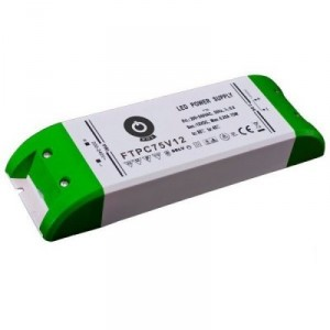 Nábytkový LED napájecí zdroj FTPC75V12 75W 6,25A 12V