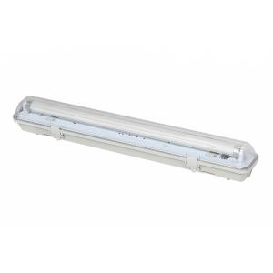 Prachotěsné svítidlo GXWP505 pro LED trubice T8 2 x 150cm