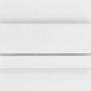 LED nástěnné schodišťové svítidlo UNICO bílá 1,2W 12xSMD3014 12V DC teplá bílá