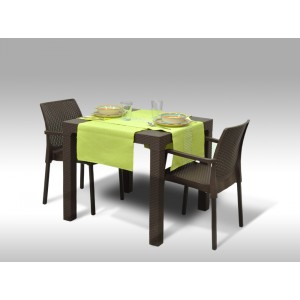 Jídelní sestava Granada + 2 židle Cordoba