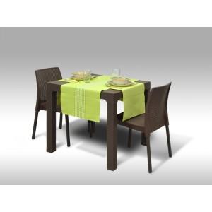 Jídelní sestava Granada + 2 židle Malaga