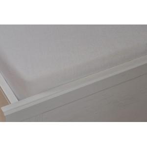 Froté prostěradlo 90x200 cm bílé