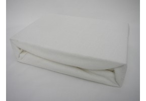 Froté prostěradlo 90x200 cm bílé exclusive