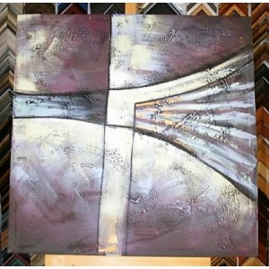 Obraz holubí křídla II 90x90 cm