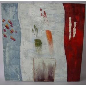 Obraz abstrakce 75x75 cm