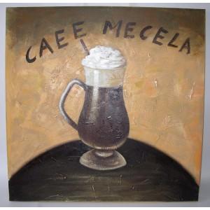 Obraz káva 75x75 cm