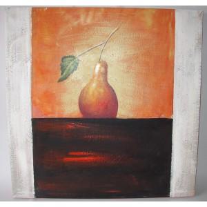 Obraz hruška 75x75 cm